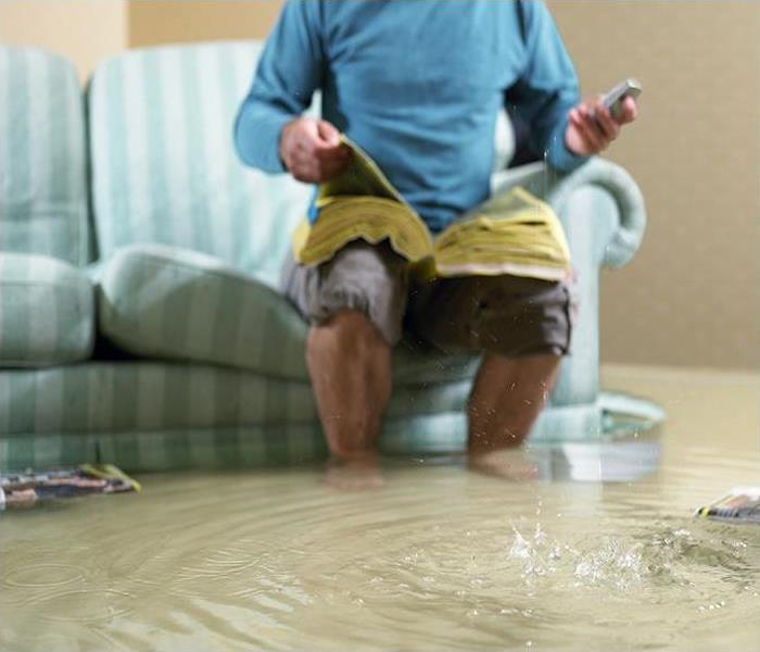 Water Damage SERVPRO Removes Water In Dallas And Provides Other Services After Flooding