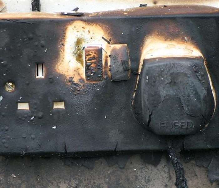 Fire Damage How an electrical fire can affect your Dallas home.