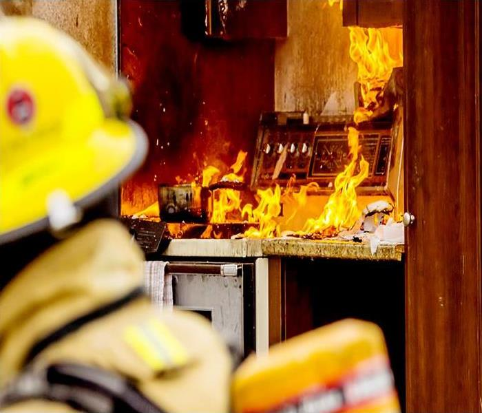 Fire Damage When Your Dallas Home Suffers Fire Damage The Crew You Can Count On Is SERVPRO!