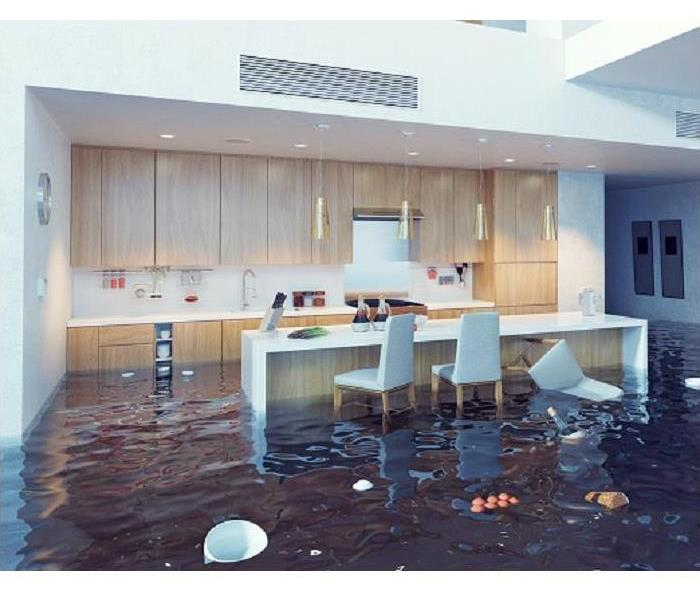 Water Damage Oh No! A Water Supply Leak Has Flooded Your Dallas Kitchen